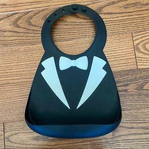 🛍3/$25 Tuxedo bib